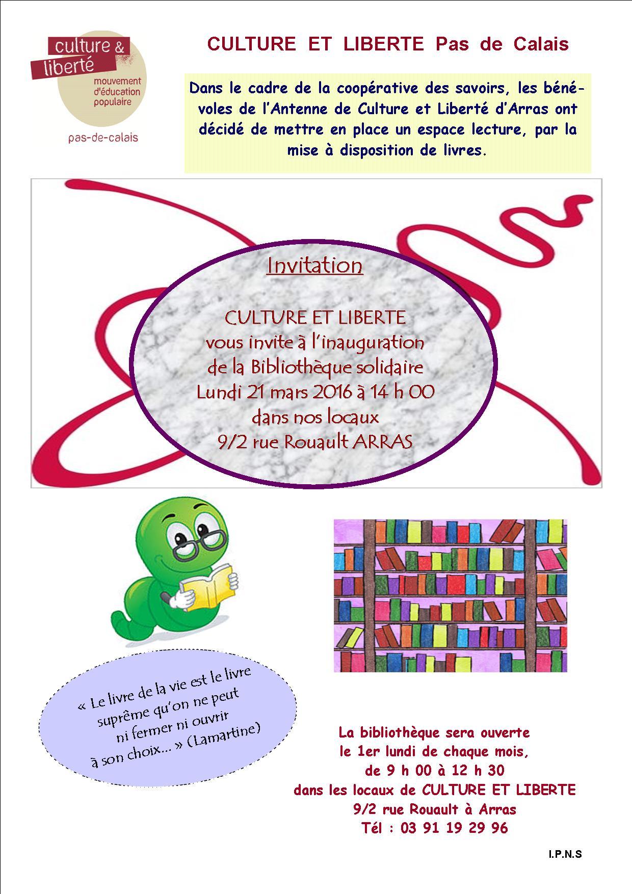 Bibliothèque - A4 inauguration